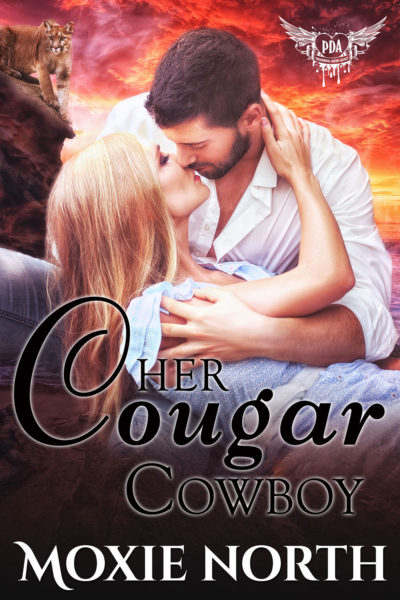 Her Cougar Cowboy by Moxie North