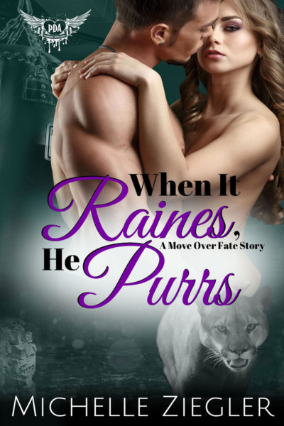 When it Raines, He Purrs by Michelle Ziegler