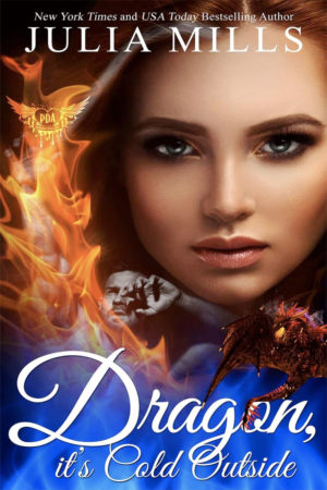Dragon It's Cold Outside by Julia Mills