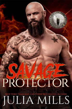 Savage Protector by Julia Mills